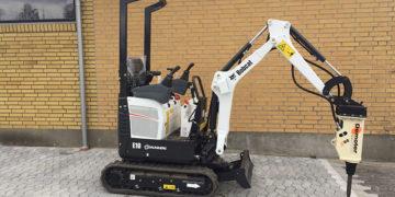 Minigraver Bobcat E10