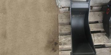 20 cm skovl til gravemaskine