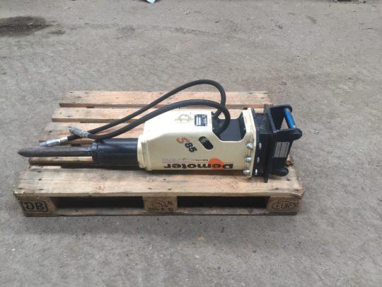 Demotor S85 hydraulik hammer 500kr. pr. døgn