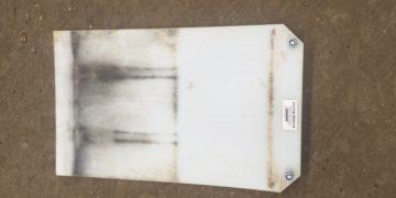 Vibrationsmåtte til pladevibrator 75kr. pr. døgn